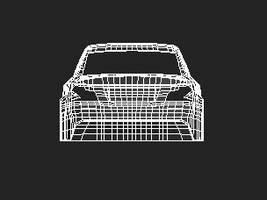 BMW_Back_Wire_Frame