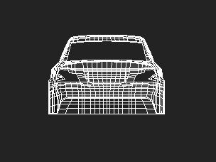 BMW_Back_Wire_Frame by redsamurix