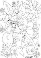 colouring page 5  FEELINGS by orjoowan-art