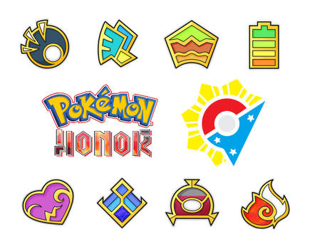 Ibaro League Badges - Honor Version