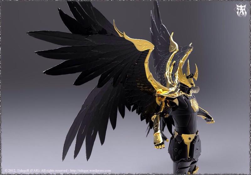 Fallen Angel Armor By Azzyflem