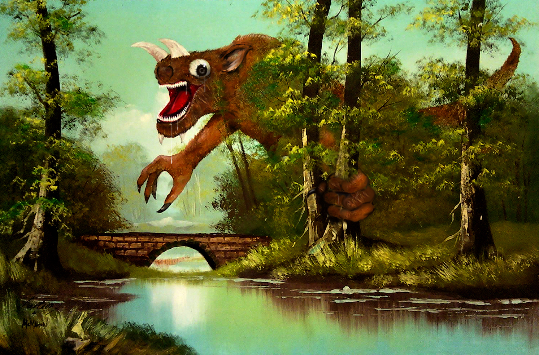 The Bridge Monster by CHR15T0PH3L35