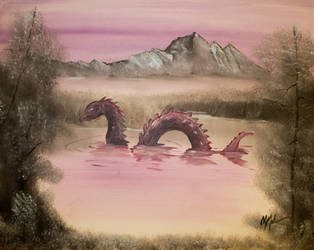 The Lake Serpent by CHR15T0PH3L35