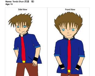 Tendo Shun by WolverineFung