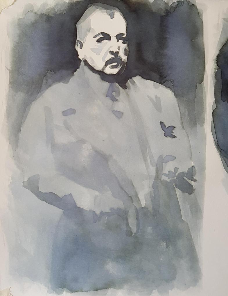 Zorn self-portrait studies by Ares777