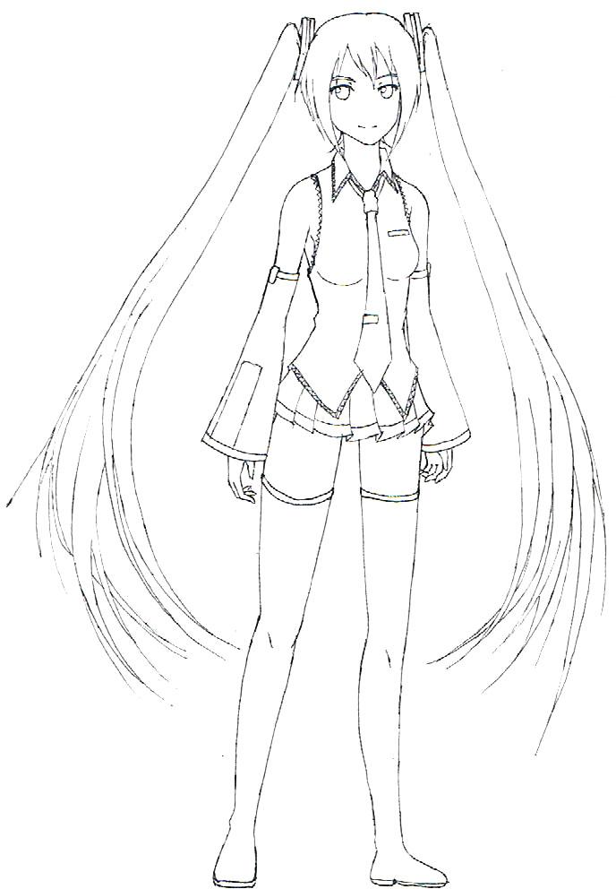 vocaloid fan art hatsune miku 3 by gat xx03