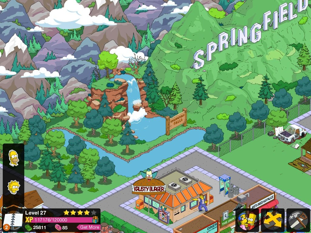 Simpsons Tapped Out Town Ideas