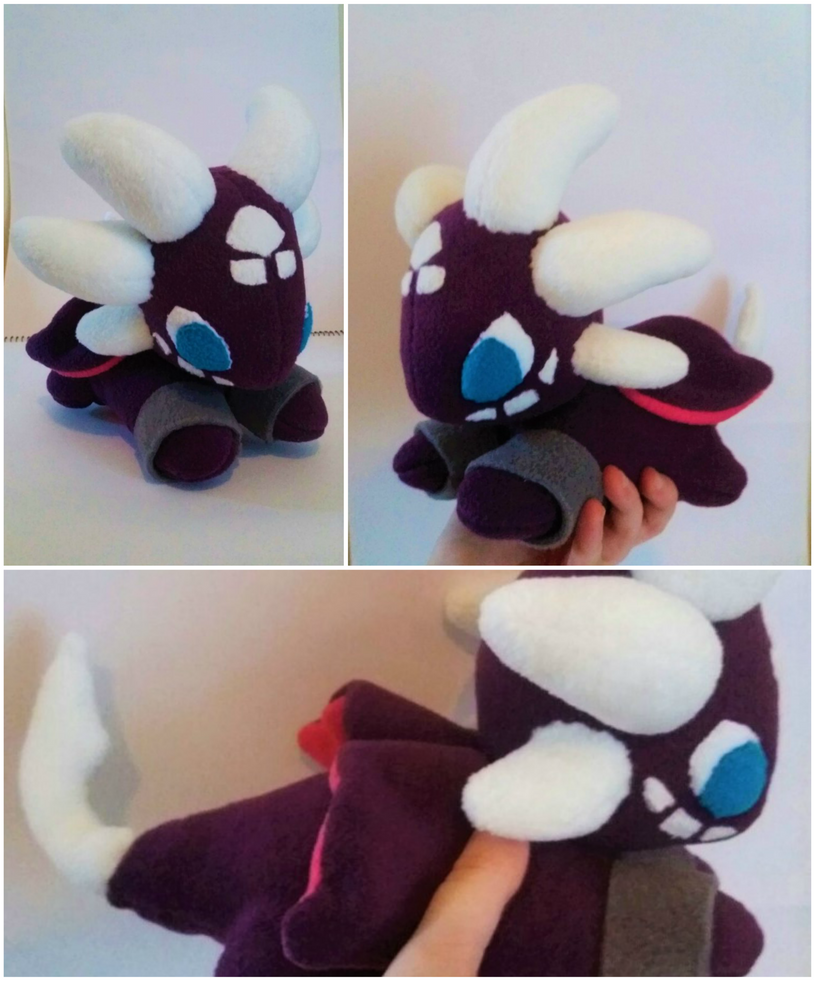 Cynder the Dragon Plush by Gemlettuce