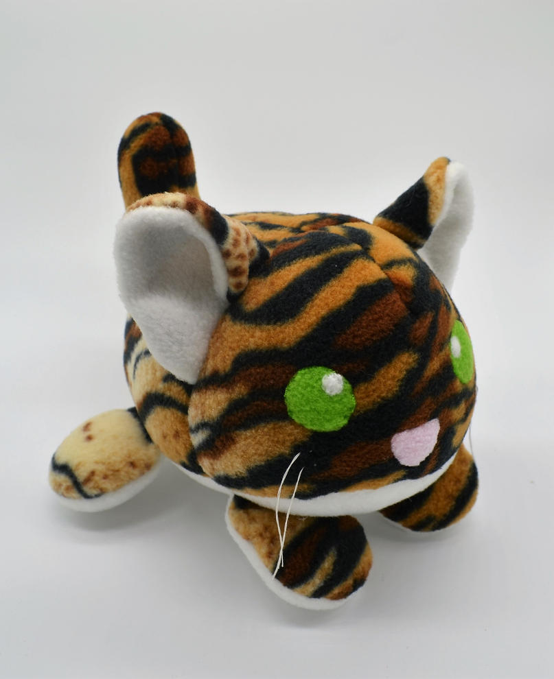Chibi Cub Roll Tiger Plush by Gemlettuce