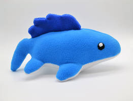 Chibi Mosasaur Plush by GemlettuceCreations