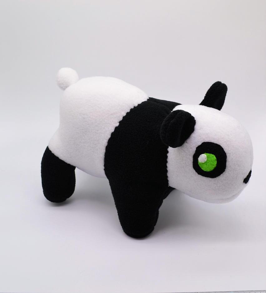 Chibi Panda Bear Plush by Gemlettuce