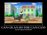 Can Cilan do the Can-Can?