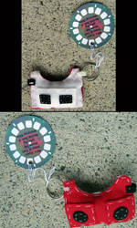 80's Eyes:  Seen and Felt key chains by truth-n-vacancy