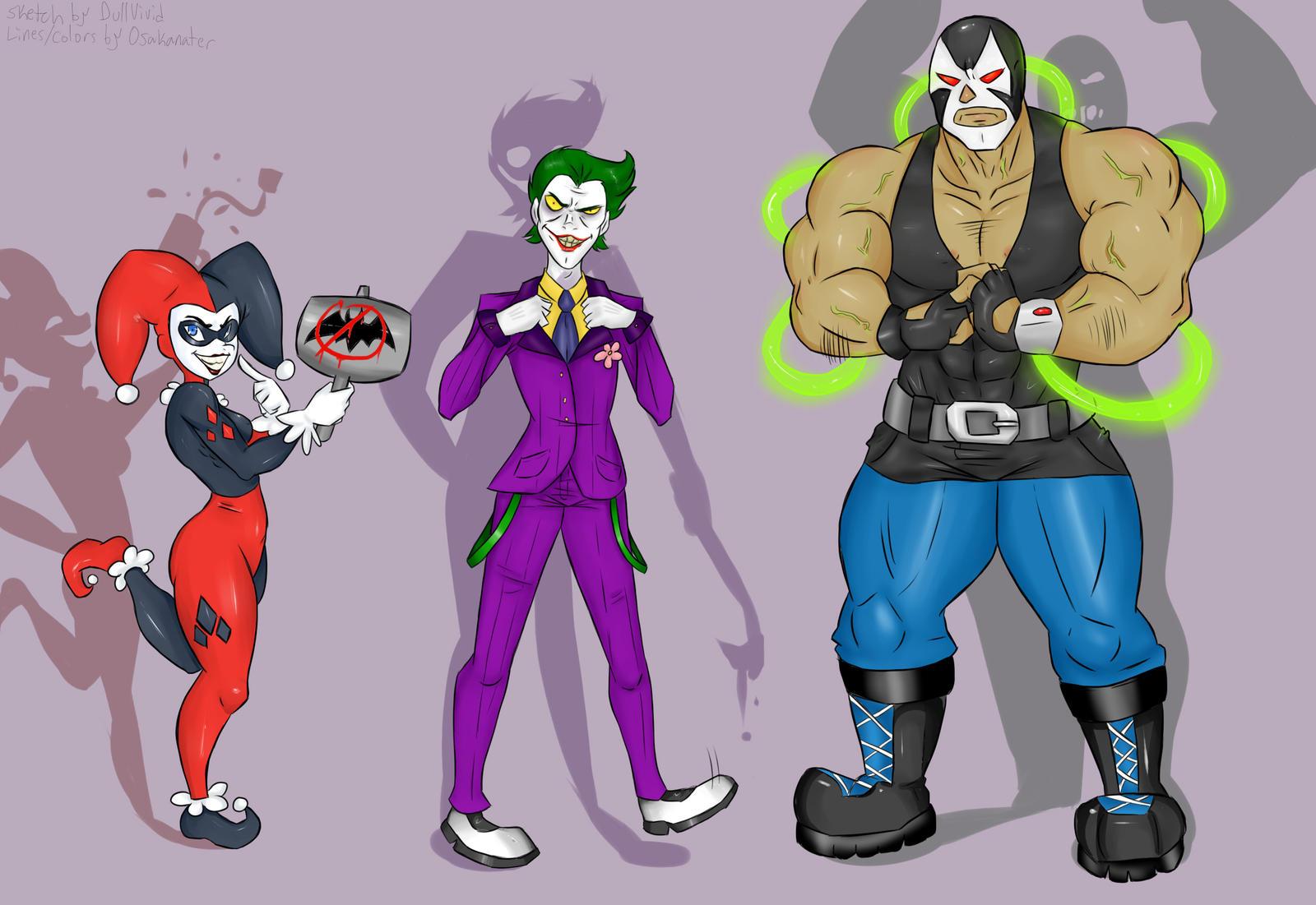 Batman Collab 02 by DullVivid on DeviantArt