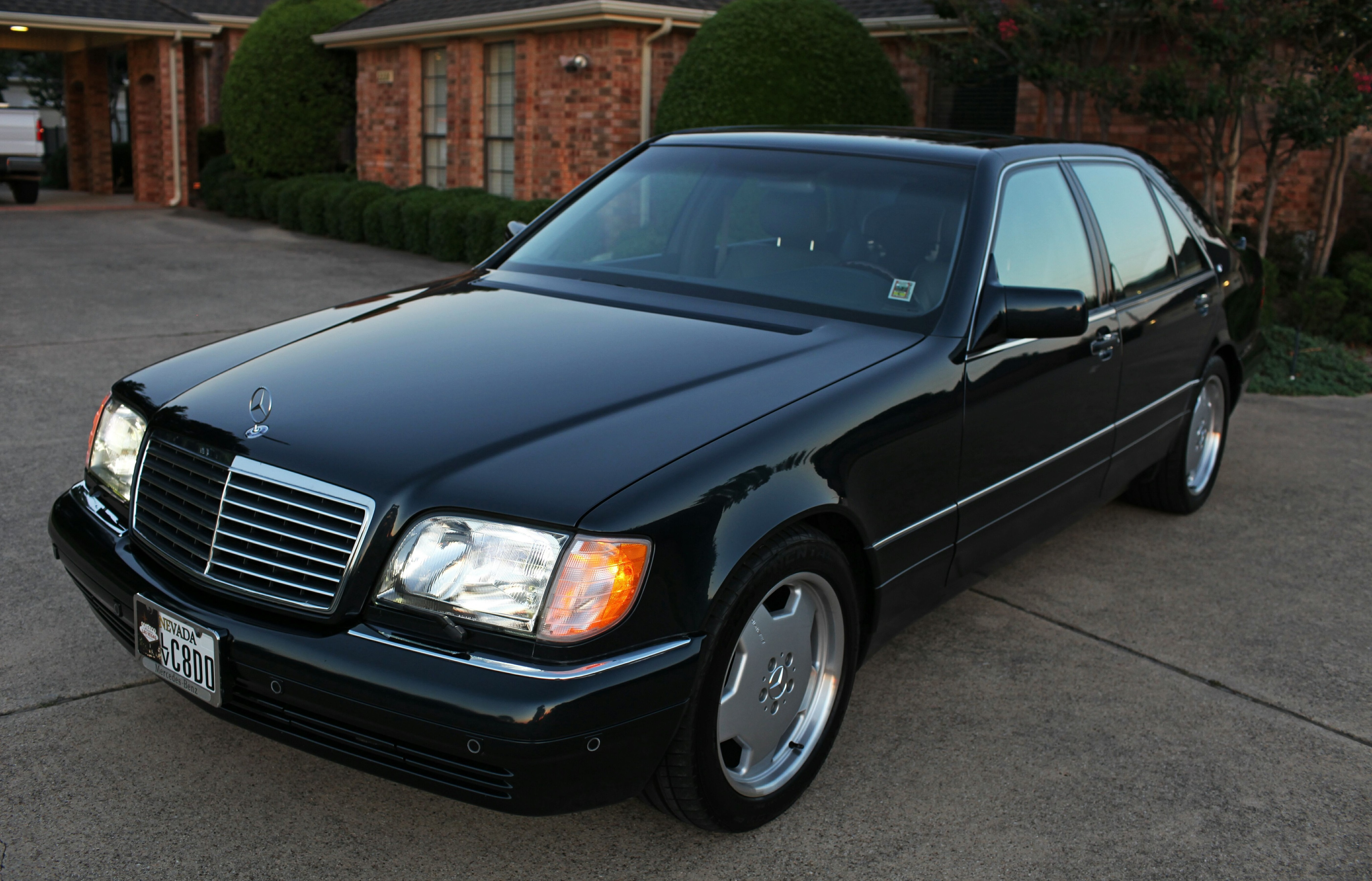 1998 mercedes benz s600 side by traynerekk on deviantart