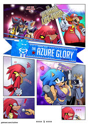 The Azure Glory - Page 1 by MissPhase