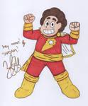 Steven is Captain Marvel/Shazam autograph