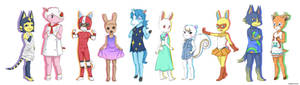 Animal Crossing - My Dream Villagers