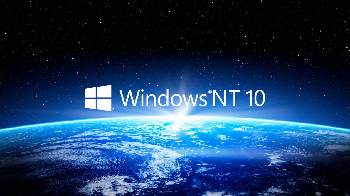Windows Nt 10 Earth View Wallpaper Hd By Eric02370 On Deviantart