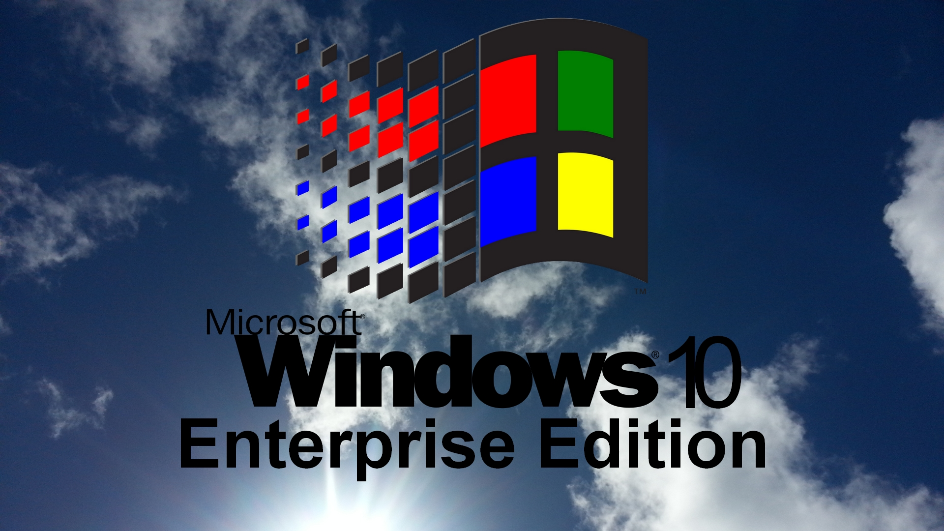 Windows 10 Enterprise Edition Clouds By Eric02370 On Deviantart