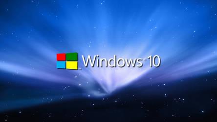 Windows 10 Blue Leopard by Eric02370