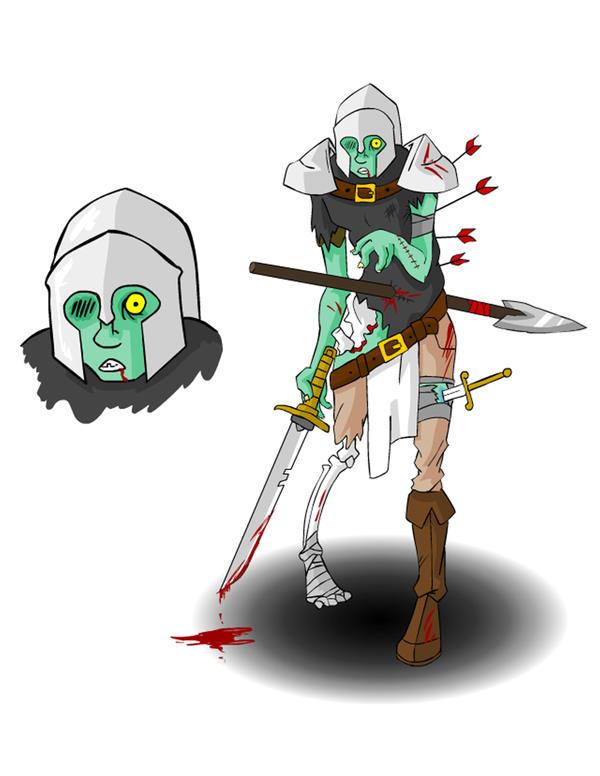 Character Design Zombie : Character design zombie by flip book