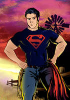 Superboy by Igloinor