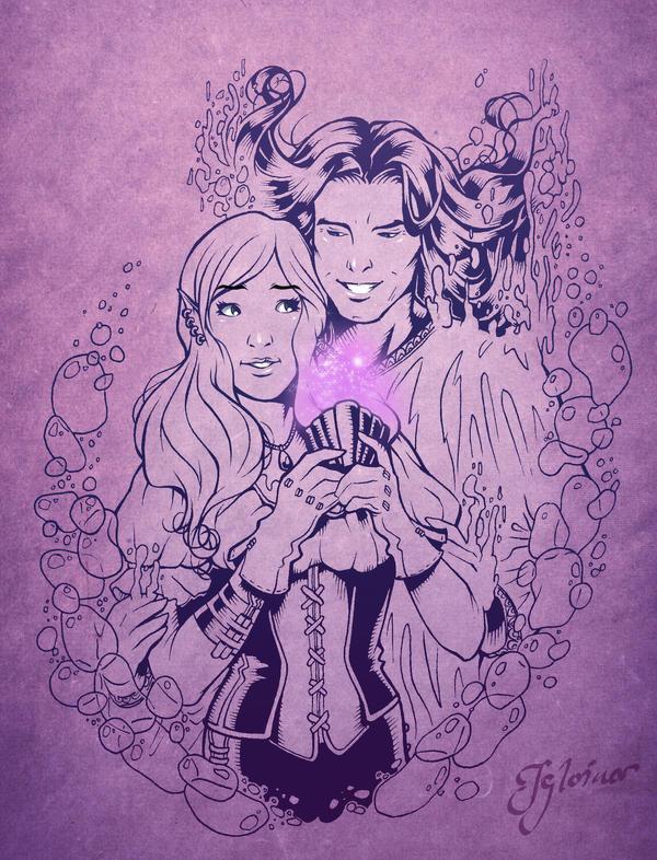 Purple love by Igloinor