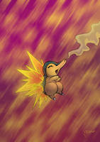 Cyndaquil by Igloinor