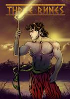 Three Runes Cover 1 by Igloinor