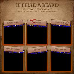 Beard Meme by Igloinor