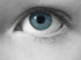 My left eye (female)