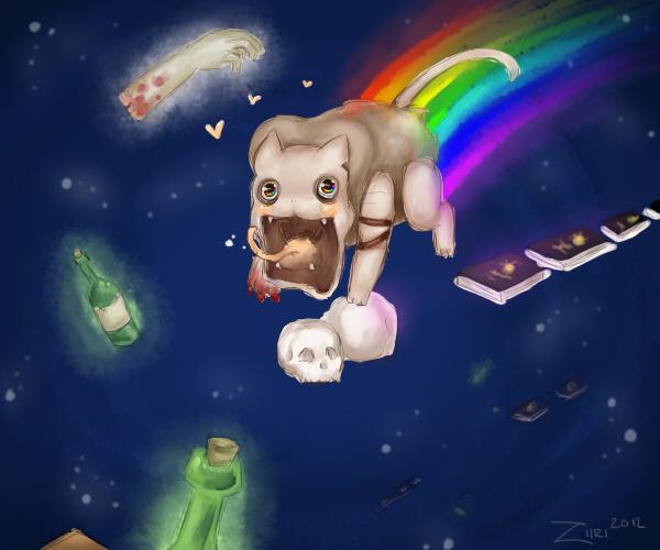 Nyan cat Amnesia edition by Ziiri