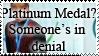 Platinum Medal? by mysterypersonzebra