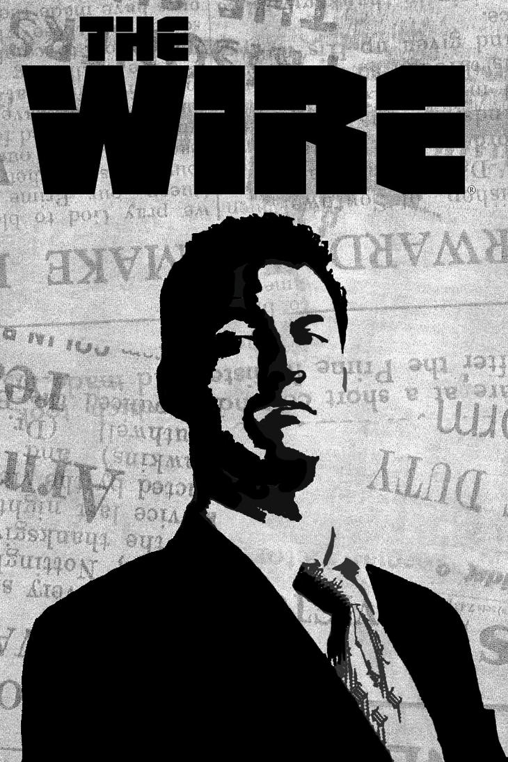The Wire | Fan Poster by Sizigia on DeviantArt