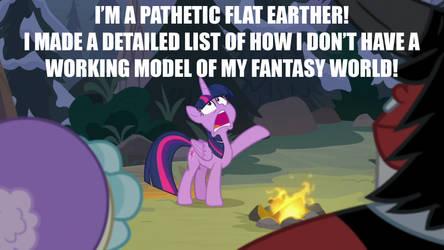Flat Earth is Pathetic