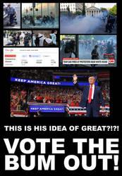 VOTE THE BUM OUT! #VoteTheBumOut