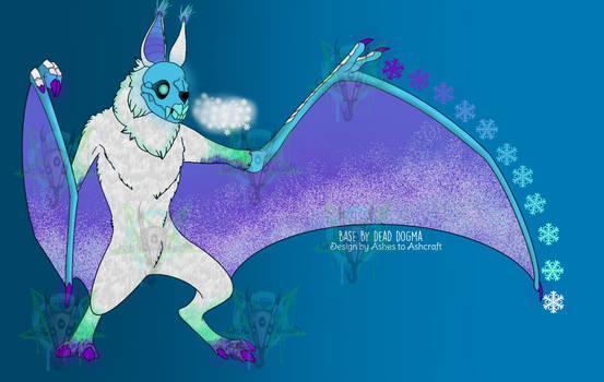 Charity Bat Adopt 1/2: Glacial [SOLD]