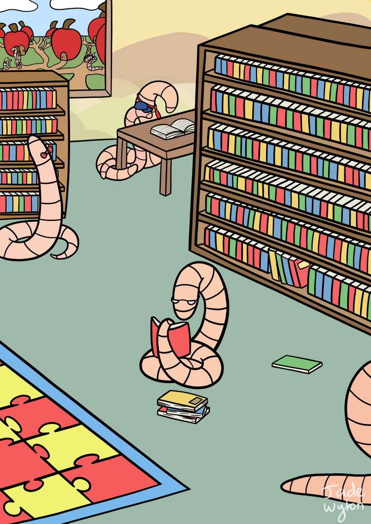 Bookworms by Sheepston