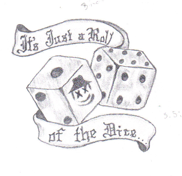it 39 s just a roll of the dice by brokenhome84 on deviantart. Black Bedroom Furniture Sets. Home Design Ideas