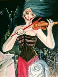 violin by ErosArt8