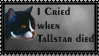 I Cried when Tallstar... by SweetSuicune2000