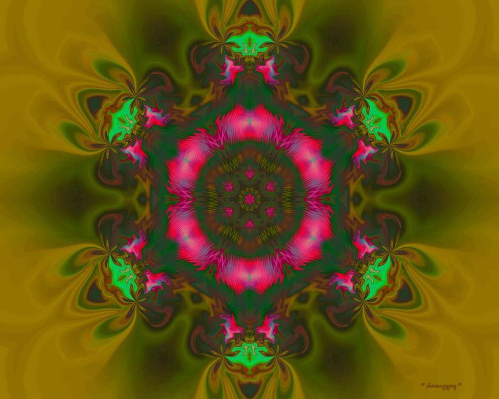 radiant flower . radiant spirit by divinegypsy