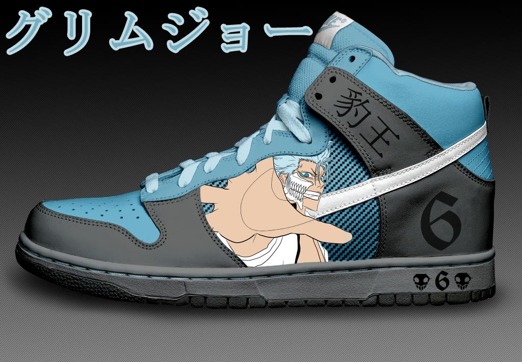 sale retailer 69d7a afb2e Grimmjow Custom Nike Dunks by Azrael-Haze ...