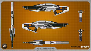 M230 Jackal Shotgun by Saintwalker1806 - wallpaper