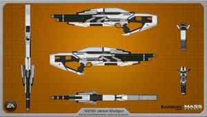 M230 Jackal Shotgun by Saintwalker1806 - wallpaper by rex3cutor