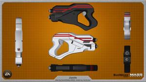 Zenith heavy pistol by Saintwalker1806 - wallpaper by rex3cutor
