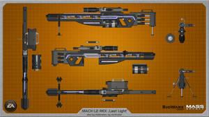 MACH L2 REX Last Light wallpaper by rex3cutor