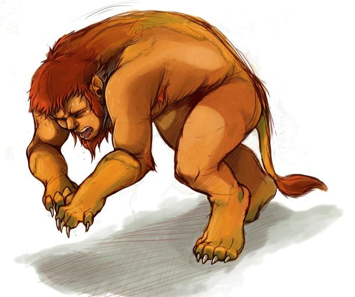 Lion TF by DrawingKuma