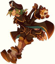 Maplestory Character-Aran by DrawingKuma